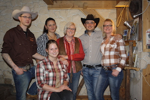 Das Riverranch-Team